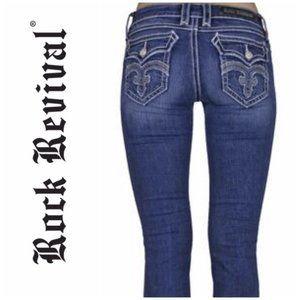 Rock Revival Debbie Bootcut Jeans - 29 - VGC